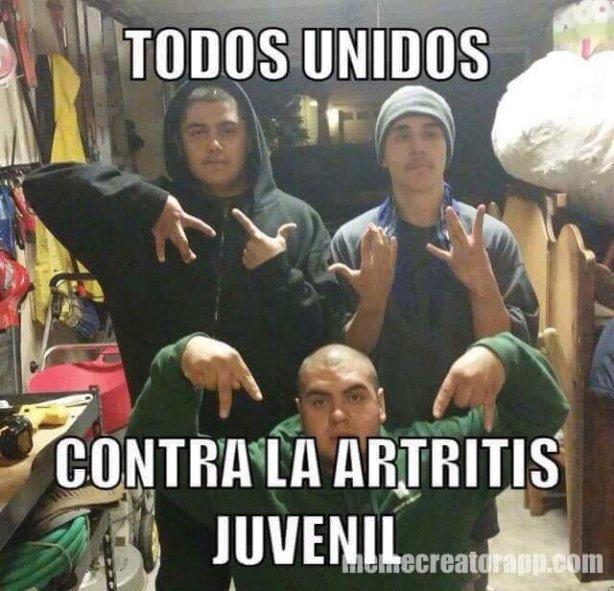 todos unidos contra artritis juvenil
